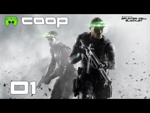 SPLINTER CELL BLACKLIST COOP # 1 - Hardi = Schleichgott «»  Let's Play Splinter Cell Blacklist | HD