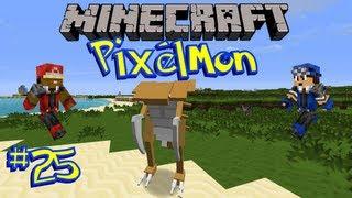 Pixelmon (Minecraft Pokemon Mod) [Ep 25] - Fossils and the Capture Contest!