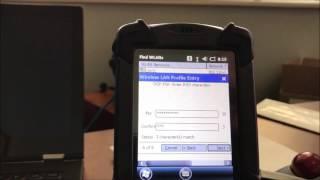 MC9200 WIFI Setup and Data Wedge Enable