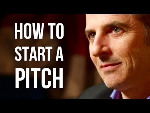 HOW TO START A PITCH - Oren Klaff