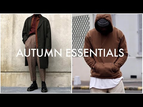 AUTUMN/FALL ESSENTIALS 2018 | Streetwear | Mens Fashion | Daniel Simmons