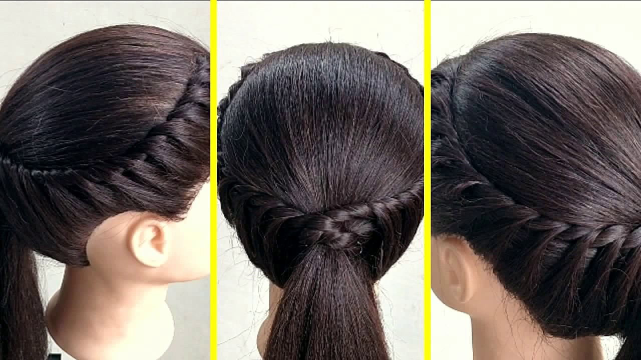 Simple Easy Hairstyle For Daily Use Everyday Hairstyles For Girl