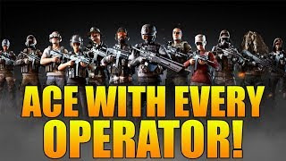 ACE WITH EVERY OPERATOR! - Ghost Recon Wildlands PVP (Ace With Every Operator in Ghost War)