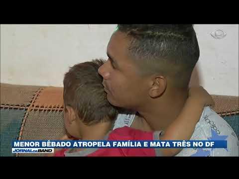 Menor Bêbado Atropela Família E Mata Três No DF