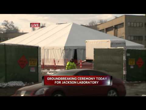 Jackson Labs Groundbreaking At UConn Health Center