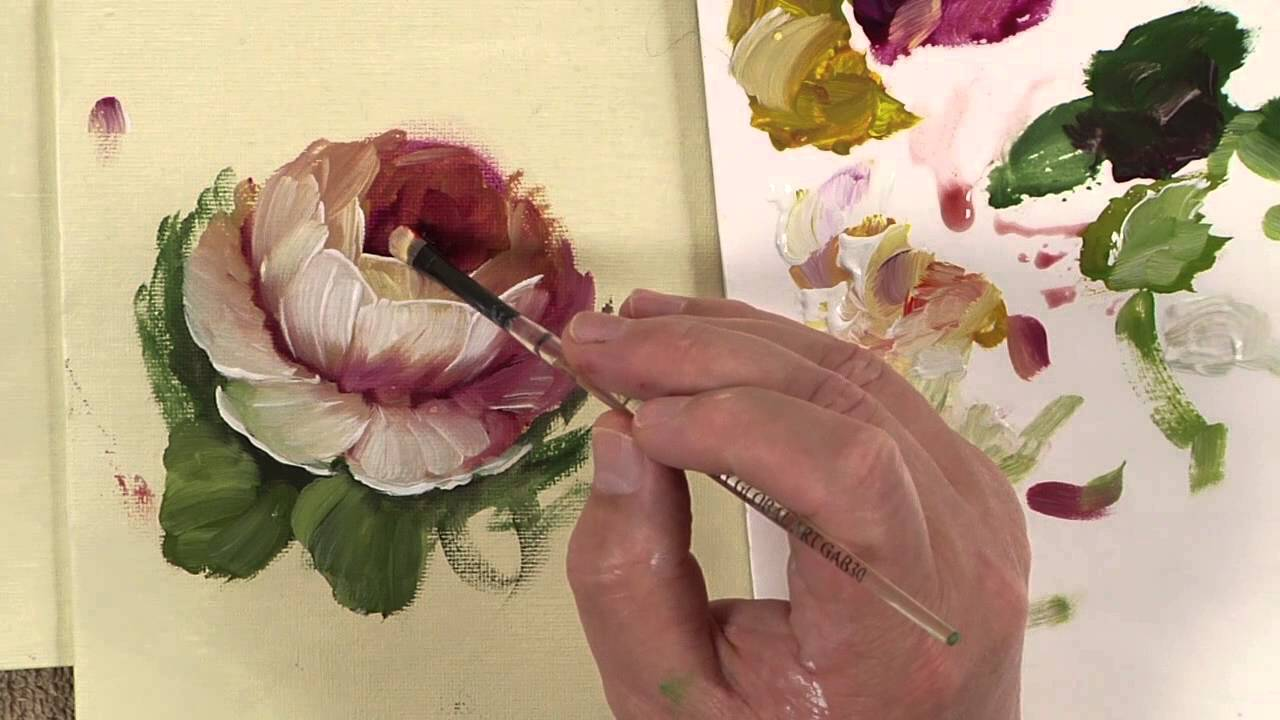 Book Cover Watercolor Flowers : Painting tapestry flowers of strokes book video