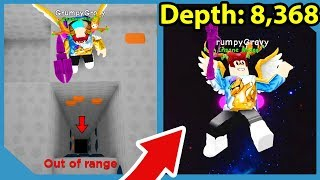 Never Dig This Deep in Roblox Moon Miners (WORLD RECORD)