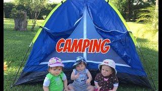 ACAMPEI COM OS BEBÊS REBORNS camping with reborn babies