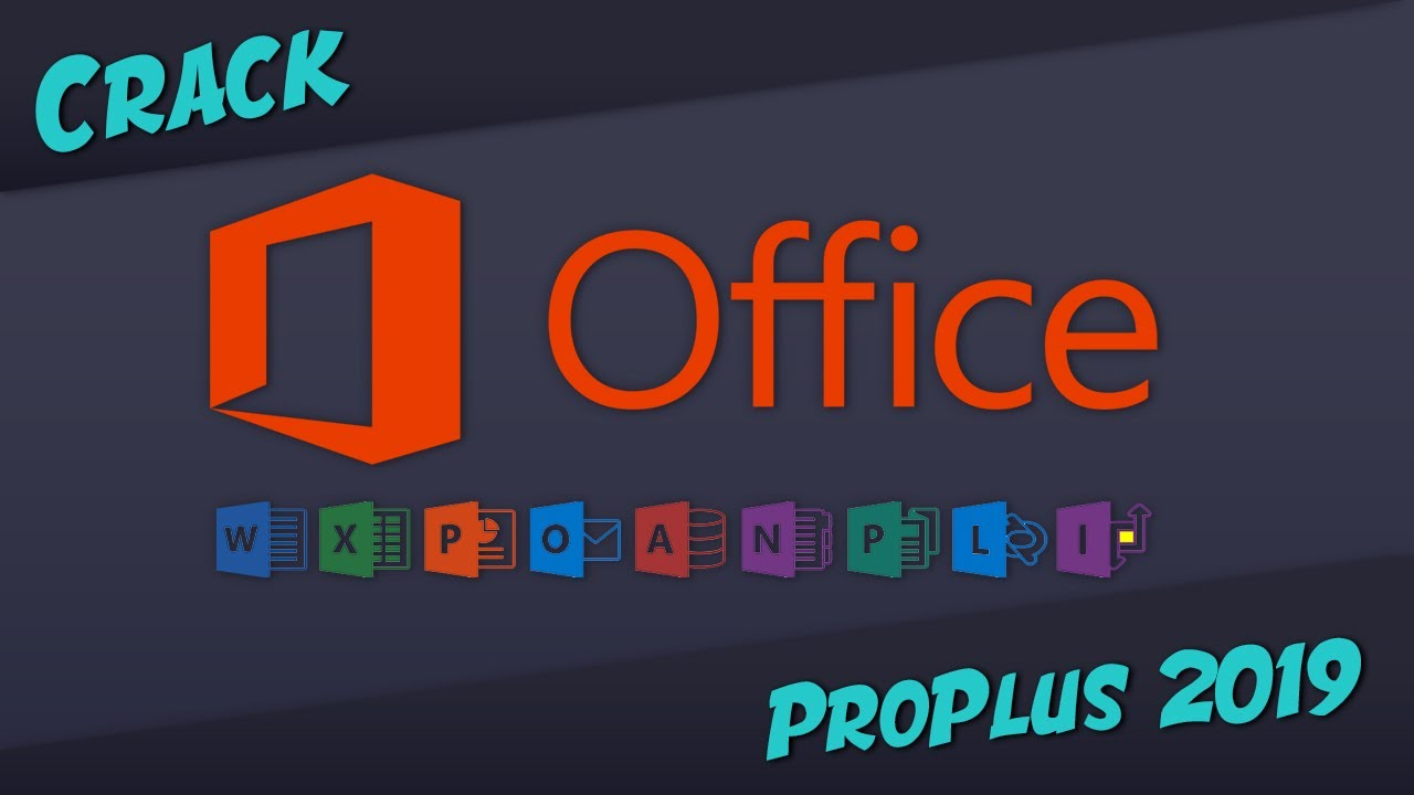 [Crack] [FR] Microsoft Office Pro PLUS 2019