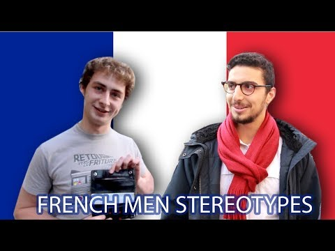 French Men & French People Stereotypes: French React