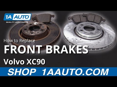 How to Replace Front Brakes 02-14 Volvo XC90