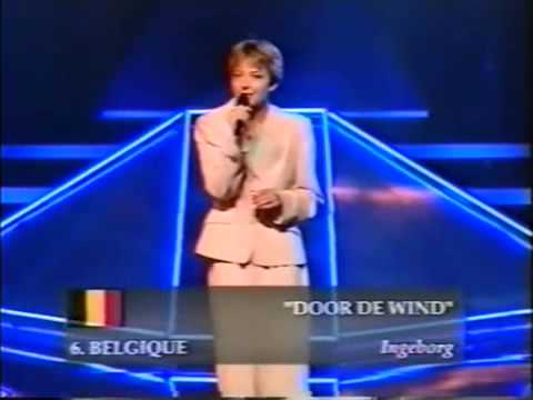Eurovision 1989 Belgium Ingeborg Door De Wind
