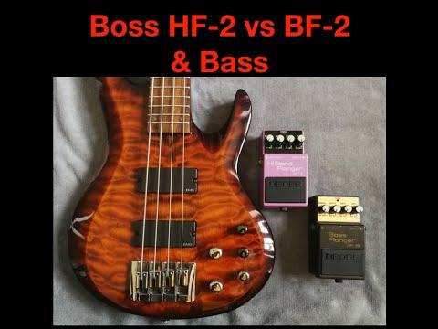Boss BF-2B vs Boss HF-2 & Bass
