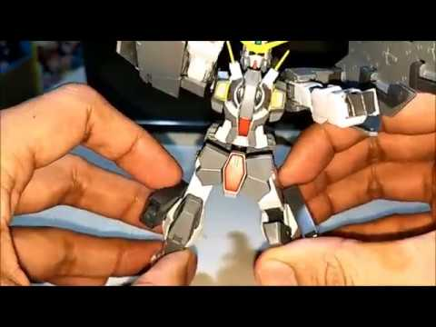 How To Make A HG 1/144 Gundam Dynames Add GN Pistol + Holster Leg Parts