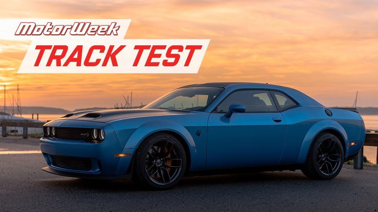 Dodge Challenger Srt Hellcat Redeye Track Test