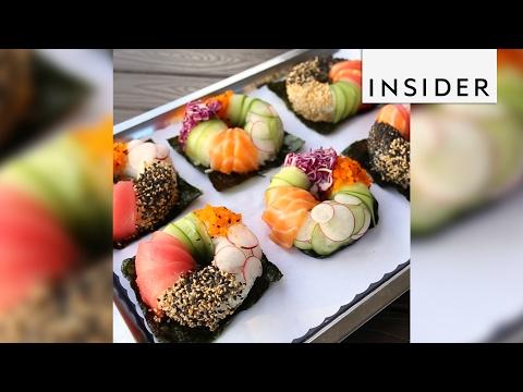 Project Poke in SoCal created the sushi doughnut