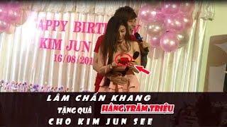 Lâm Chấn Khang chơi lớn  tặng quà hàng trăm triệu cho Kim Jun See trong ngày sinh nhật