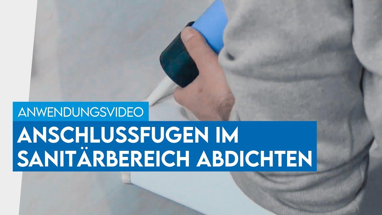 Anschlussfugen Im Bad Abdichten Mit Ottoseal S 100 Youtube