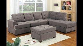 Sectional Sofa Gray,