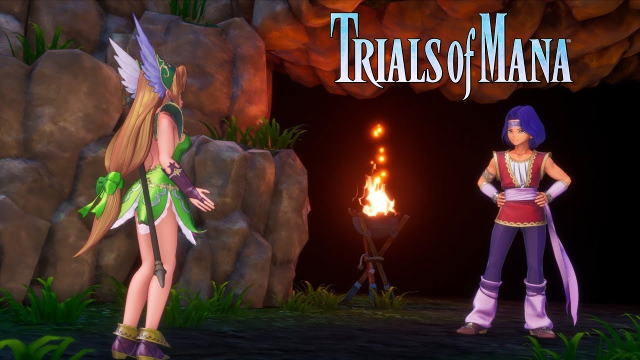 Trials of Mana - Character Spotlight Trailer: Hawkeye and Riesz