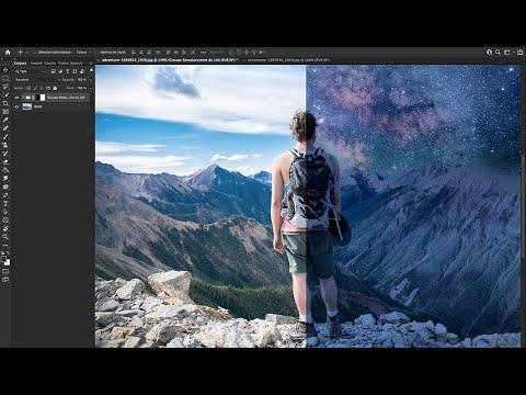 Passer du jour à la nuit en 2 manips simples avec Photoshop