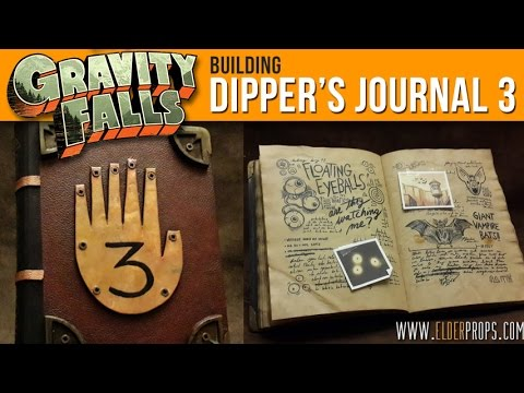 Elderprops - Building Dipper's Journal 3 from Gravity Falls