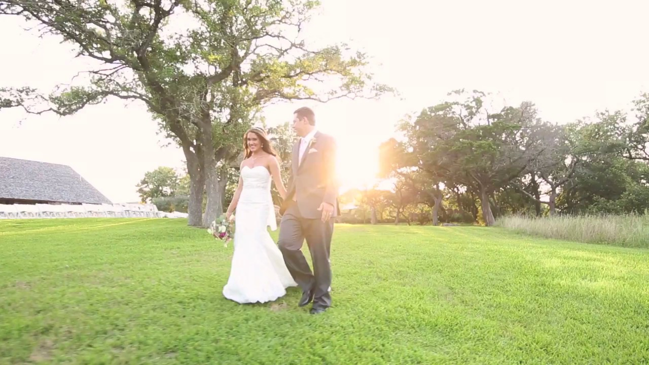 Wedding Music Video In New Braunfels TX At The Springs