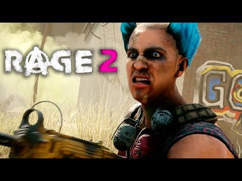 RAGE 2: Eden Assault – Extended Gameplay Reveal Trailer | QuakeCon 2018