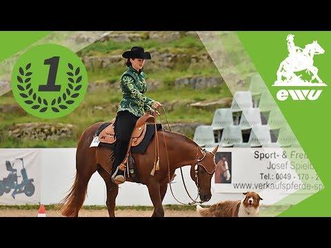 Angela Tuscher   Finale Uelzener Horse & Dog Trail  German Open 2017