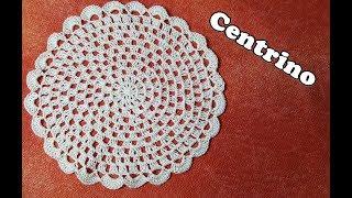 Tutorial CENTRINO facile all'uncinetto - Easy crochet tutorial