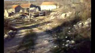 One Part Of Village Lower Vinovo Dalmatian's Hinterland(zagora) Croatia