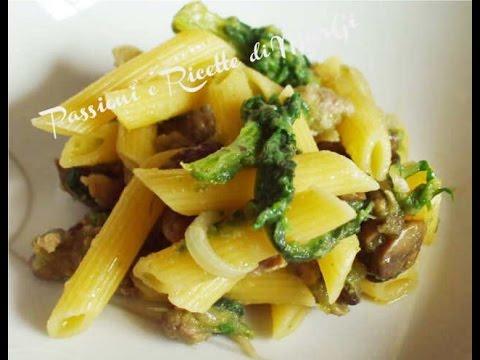 video ricetta pasta con cardi ricette di margi