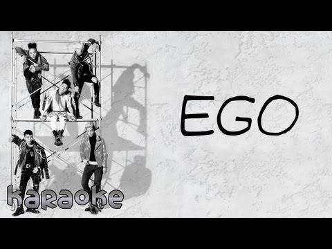 BIGBANG - Ego Japanese Version [karaoke]
