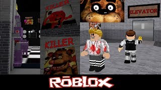 [FIVE NIGHTS AT BUNNIES] The SUPER scary elevator By JAYDENTHEDOGEGAMES [Roblox]