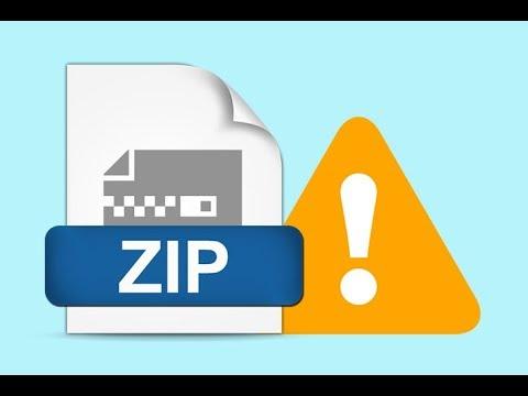 Zip dosyalarındaki Arşiv Bozuk hatası ve çözümü