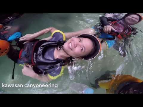 kawasan canyoneering (upstream and downstream)