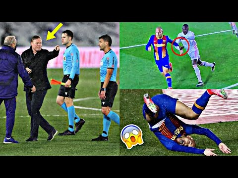 """Download """"We will replay El Clasico"""" See how Koeman go crazy after ref denied Barca clear penalty"""