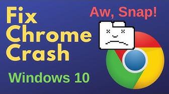 Fix Chrome Crashing Windows