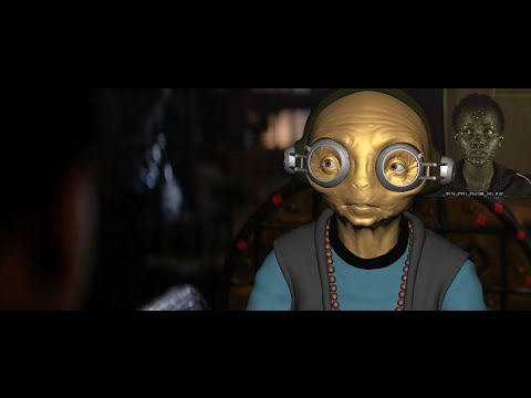 Maz Kanata Motion Capture | The Force Awakens Bonus Features