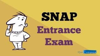 SNAP 2017 MBA Exam Details