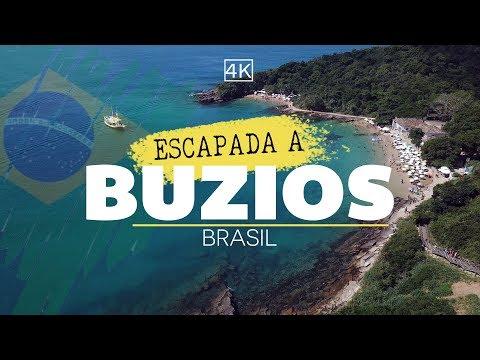las mejores playas de Buzios / Brasil 4K - GoCarlos