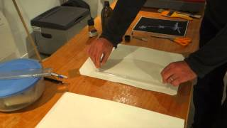 Salted paper printing at the Waihora Gallery part three
