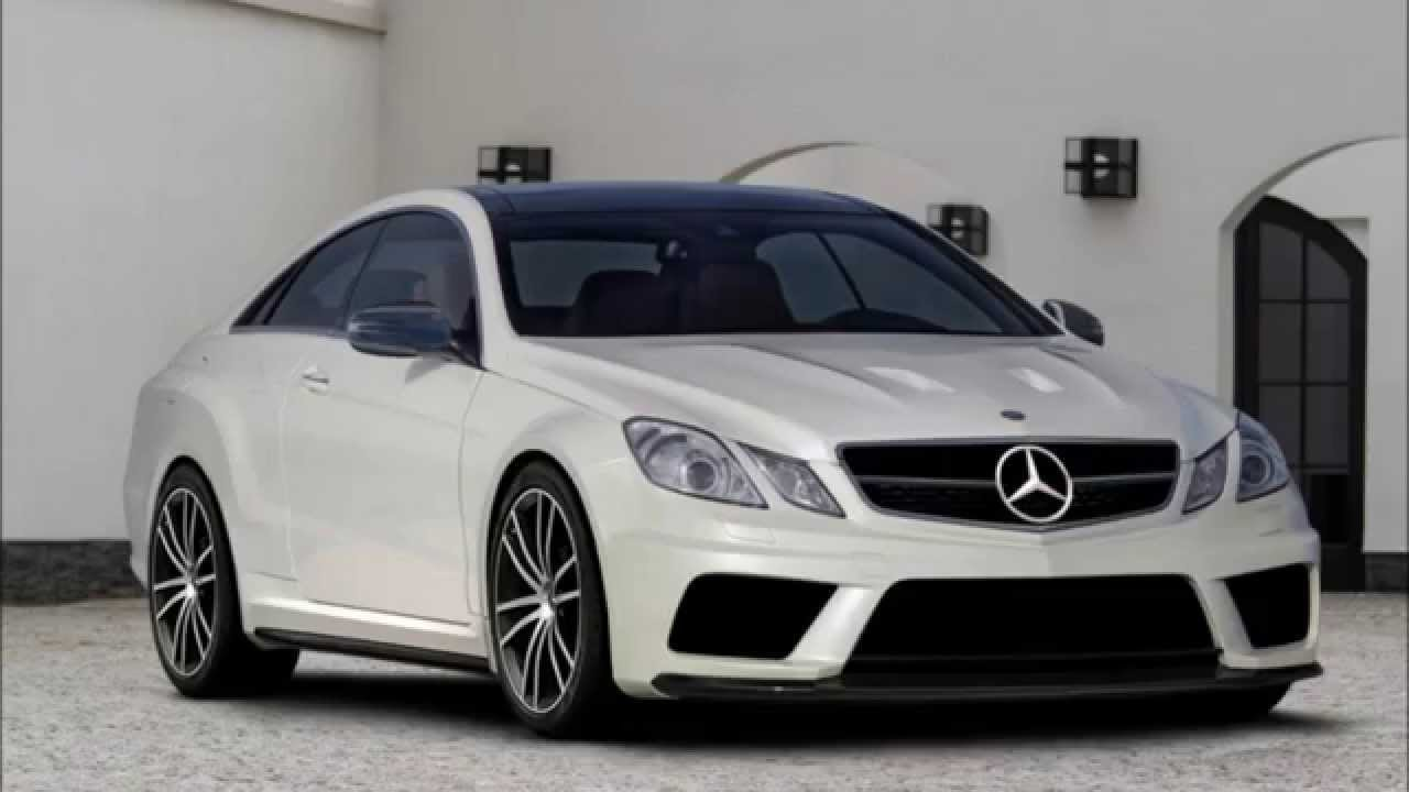 Mercedes W212 E207 Amg Black Series Body Kit Youtube