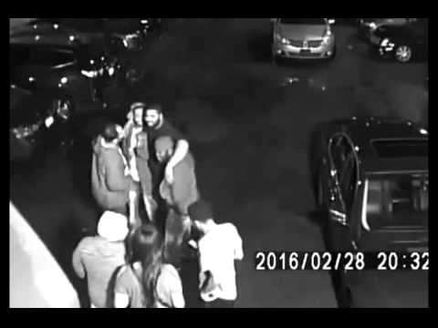 CCTV: Five People Shot At Detroit Night Club