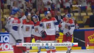 Eishockey WM 2018 - USA vs. Tschechien 3:2 / Viertelfinale Highlights Sport1