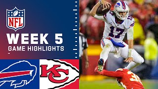 Bills vs. Chiefs Week 5 Highlights   NFL 2021
