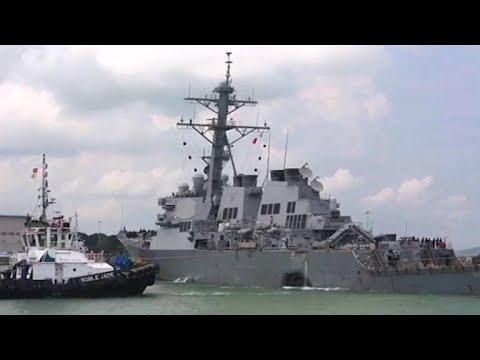 U.S. Navy sailors still missing after crash off Singapore