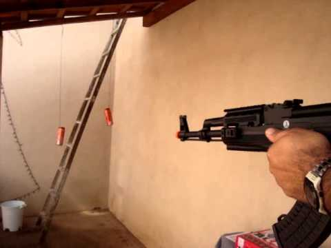 AIRSOFT AK 47//Rifle AK 47 Tactical FSV Full//EXELENTE FUZIL