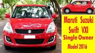 Maruti Suzuki Swift VXI/Price 5.40 lacs/Model 2016/Single Owner/Uesd cars Coimbatore