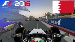 F1 2016 - 100% Race at Bahrain International Circuit, Sakhir in Pérez